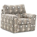 Lane 2015 Accent Swivel Chair - Item Number: 2015-01S-Leirre Maize