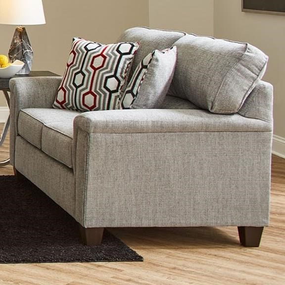 2015 Stationary Loveseat by Lane at Powell's Furniture and Mattress
