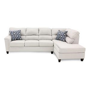 Sectional with Bump Chaise