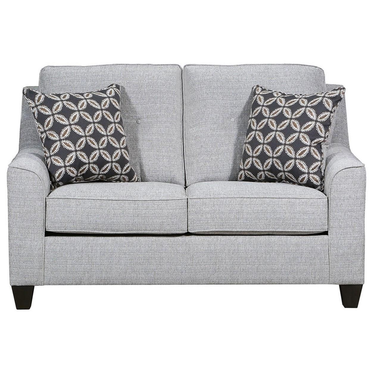 2019 Stationary Loveseat by Lane at Darvin Furniture