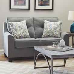 2019 Stationary Loveseat by Lane at Powell's Furniture and Mattress