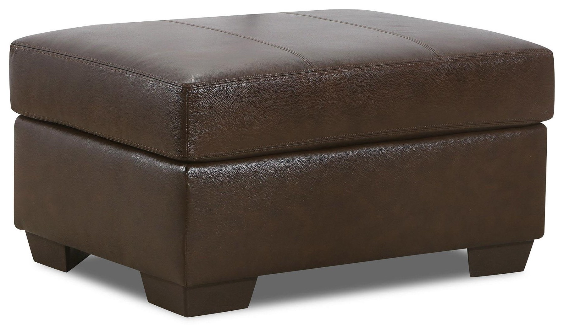 2075 Leather Storage Ottoman by Lane at Furniture Fair - North Carolina