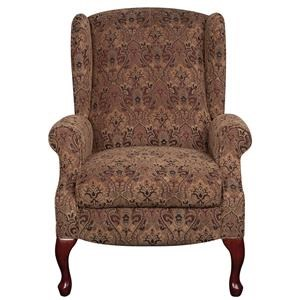 Lane Nancy Nancy Wing High Leg Recliner