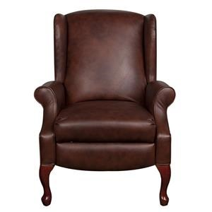 Lane Nancy Nancy Leather-Match* High Leg Recliner