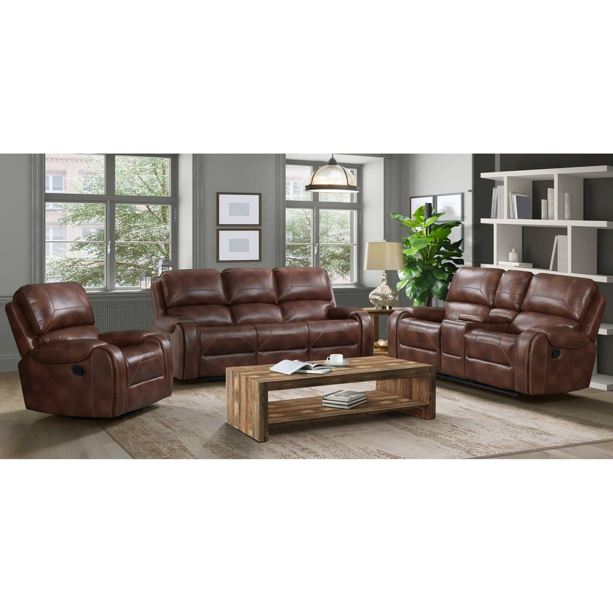 59931 Reclining Living Room Group by Lane at Powell's Furniture and Mattress