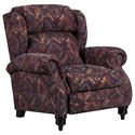 Lane 6511 High-Leg Recliner - Item Number: 6511-11-Tijuana Canyon