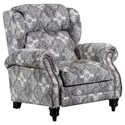 Lane 6511 High-Leg Power Recliner - Item Number: 6511P-11-Bisbee Stone