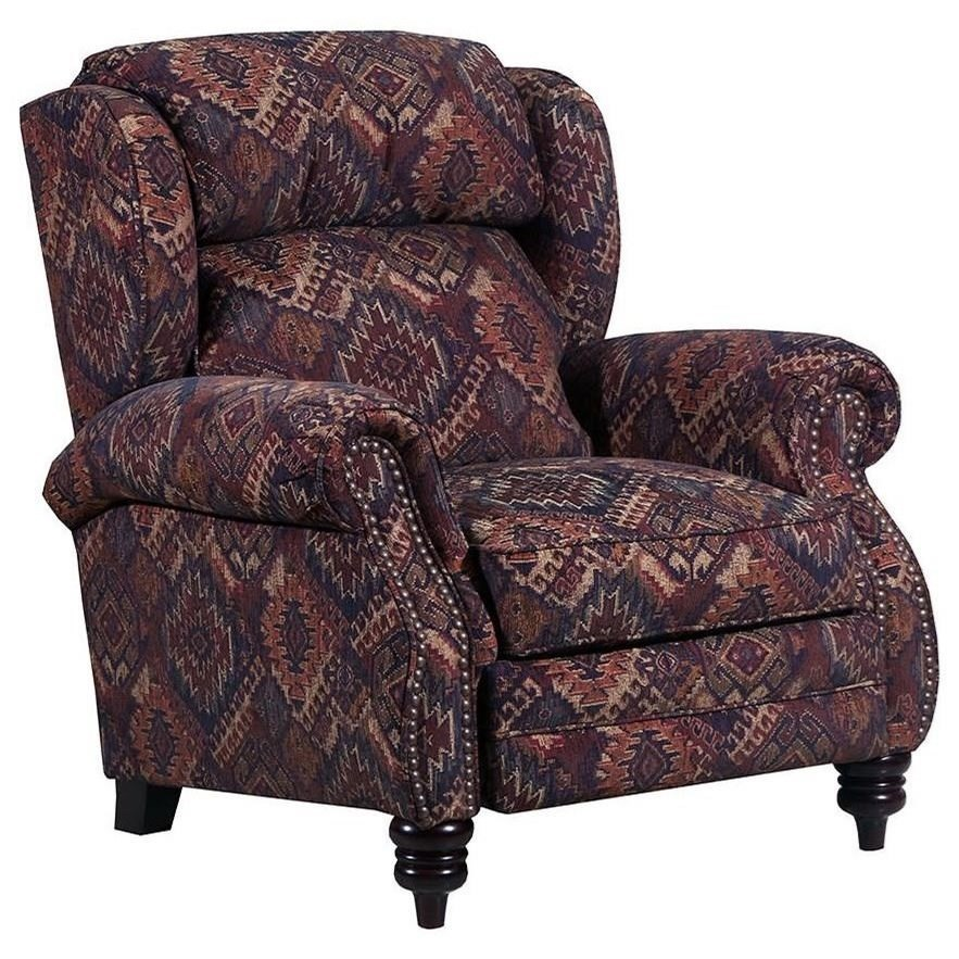 6511 High-Leg Power Recliner by Lane at Powell's Furniture and Mattress