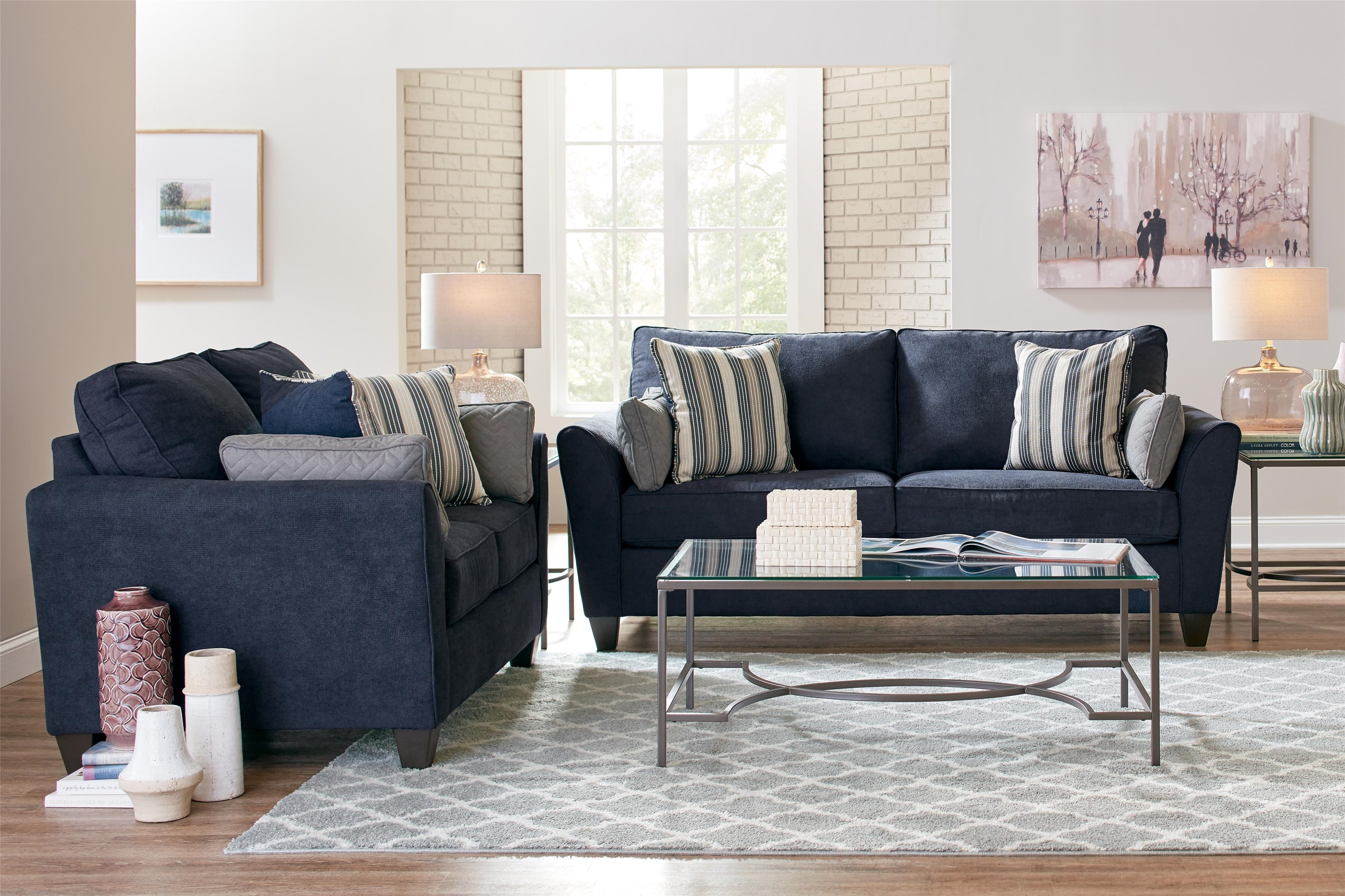 7081 Sofa and Loveseat by Lane at Value City Furniture