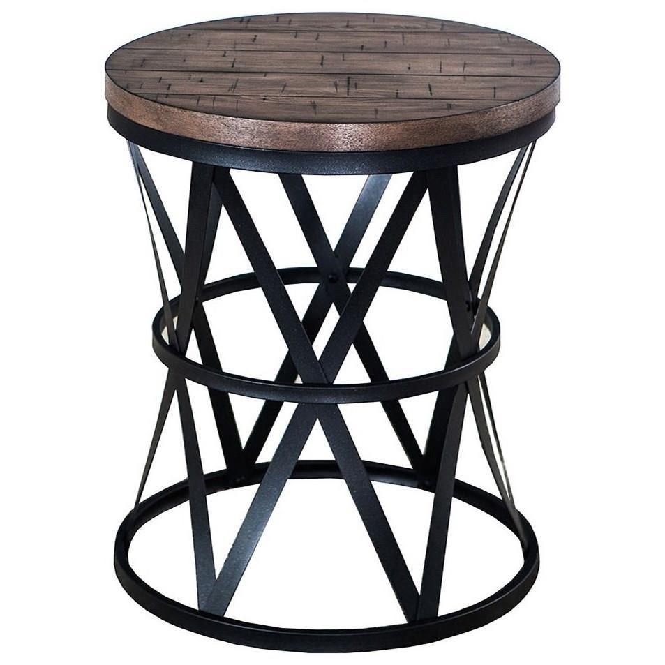 7328 Barrel Table by Lane at Esprit Decor Home Furnishings