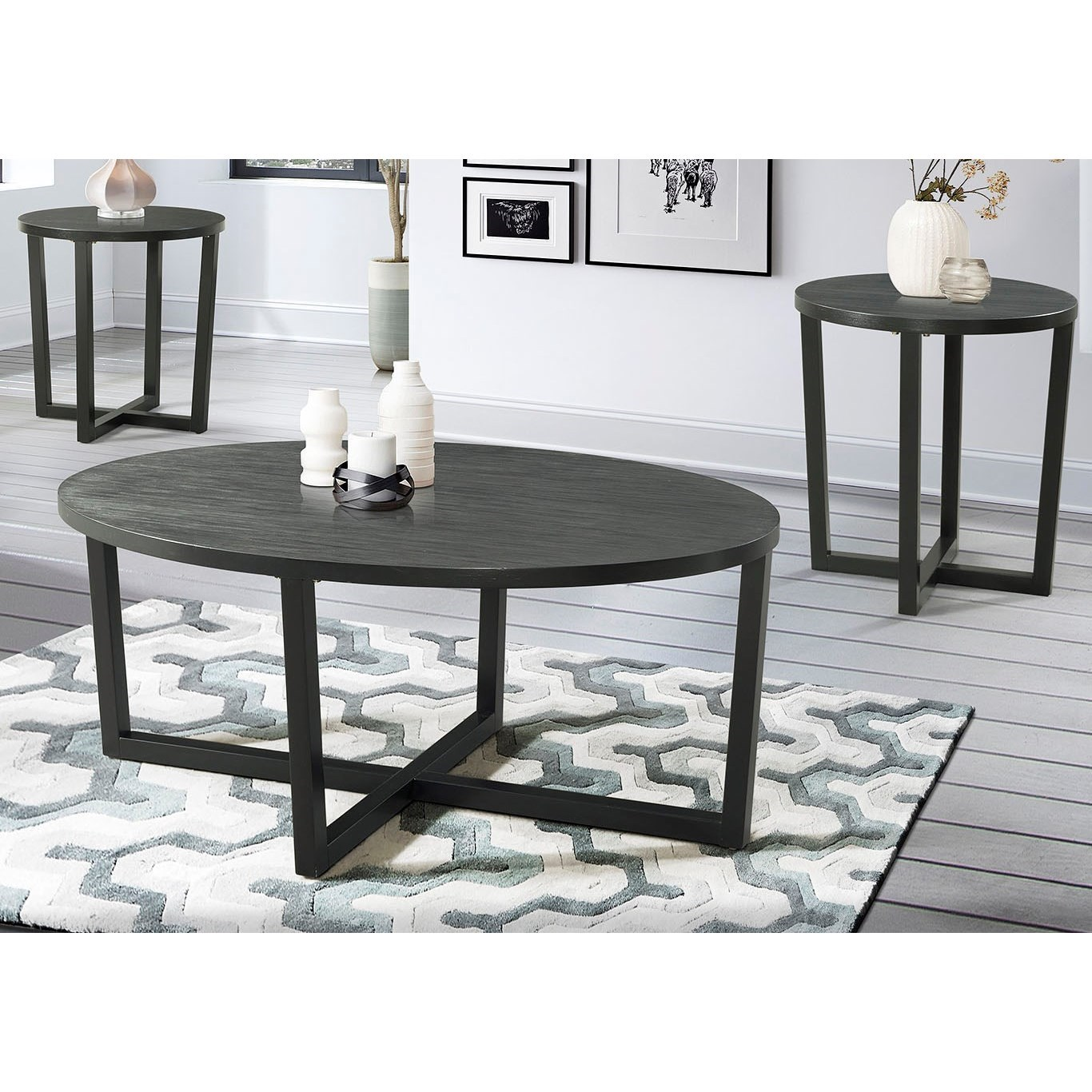 7585 3-Piece Occasional Table Set by Lane at Esprit Decor Home Furnishings