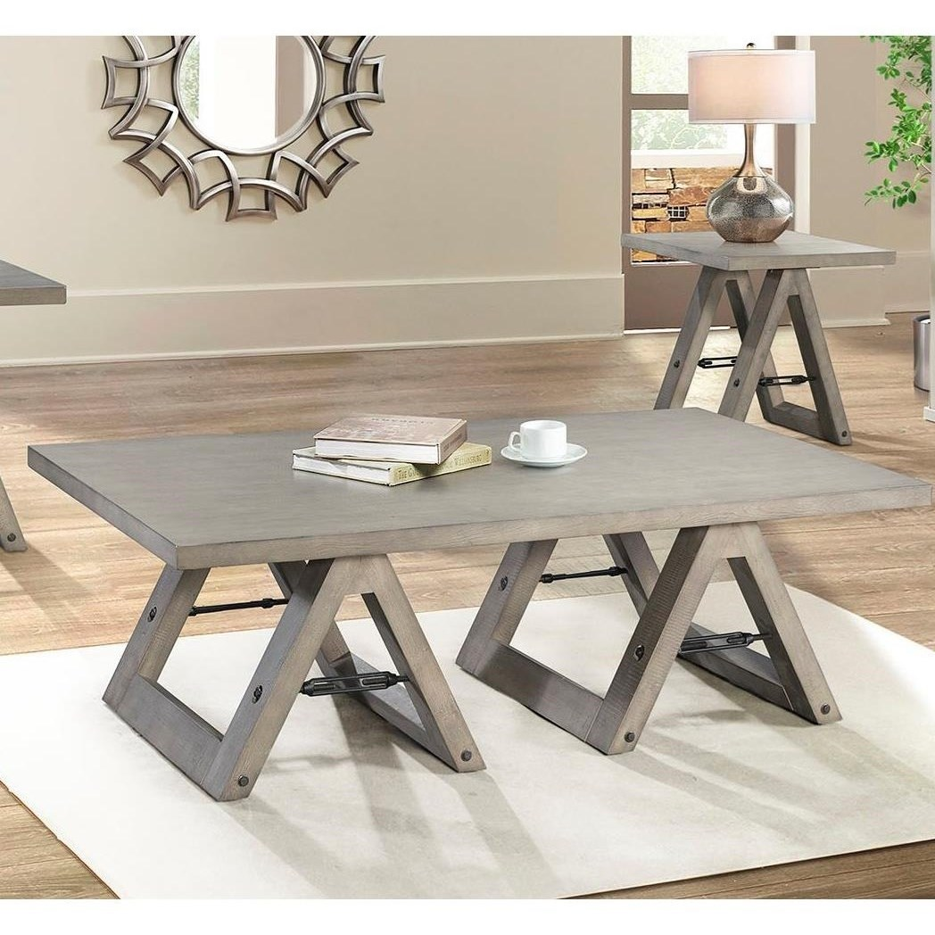 7592 Cocktail Table by Lane at Esprit Decor Home Furnishings