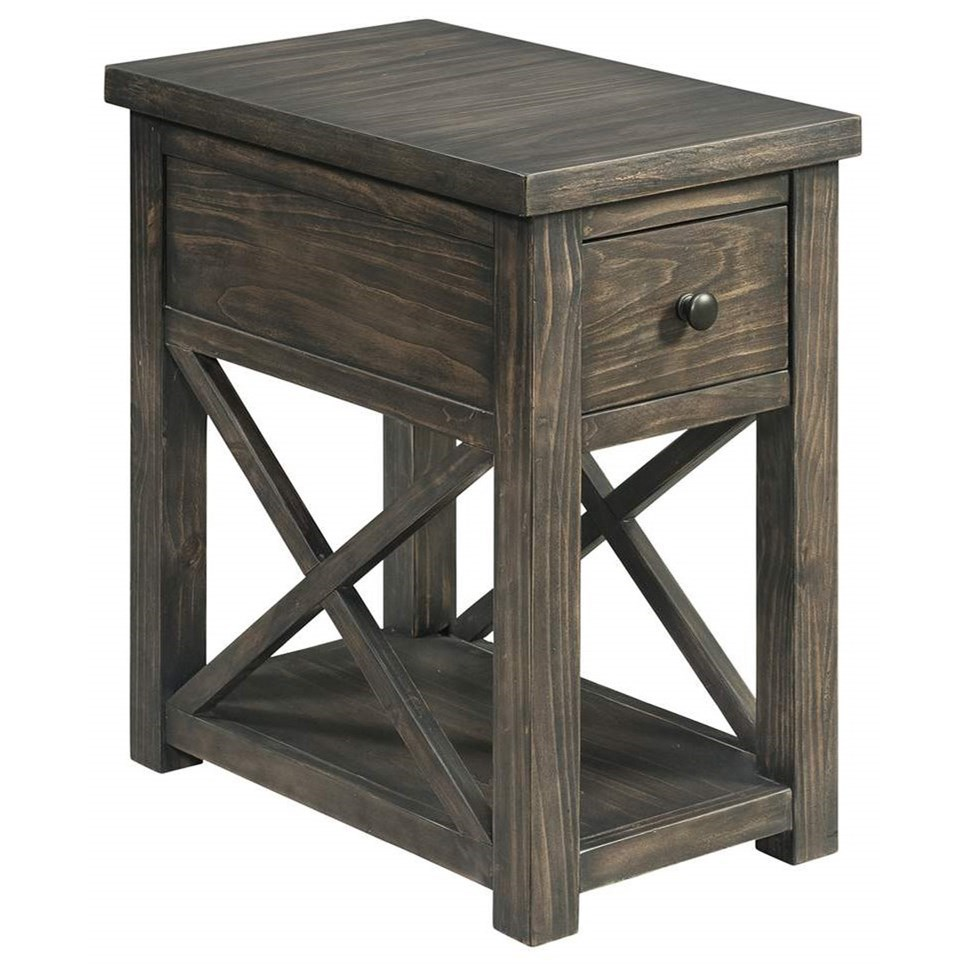 7607 Chairside Table by Lane at Esprit Decor Home Furnishings
