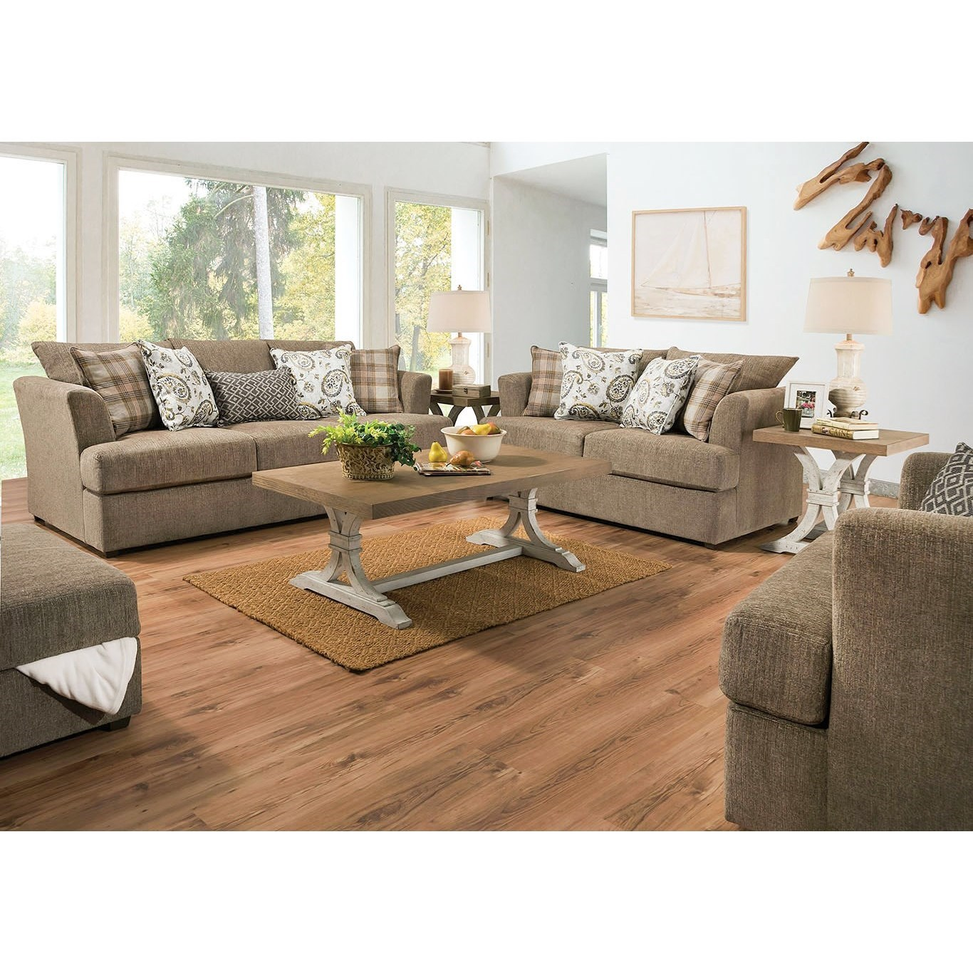 8009 Living Room Group by Lane at Esprit Decor Home Furnishings