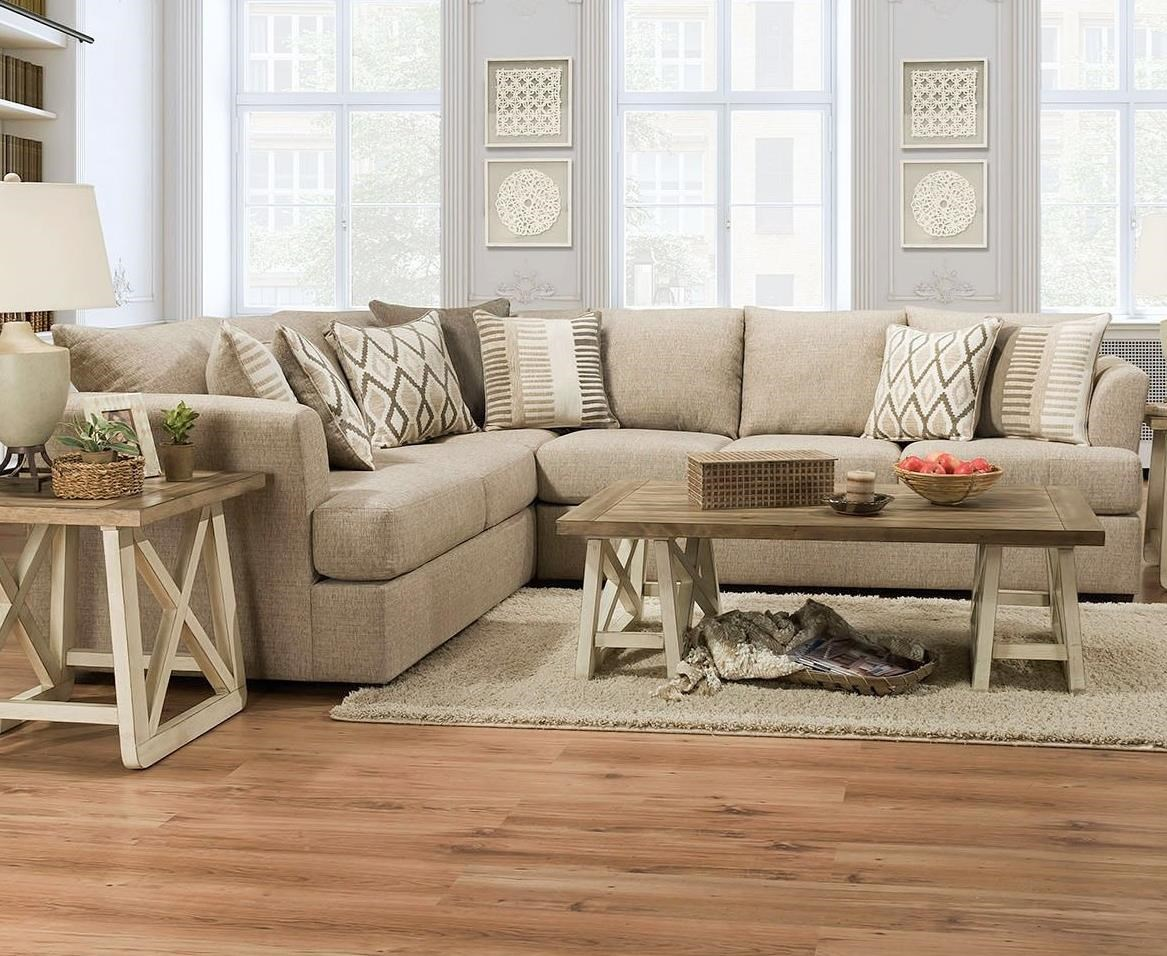 8009 Sectional by Lane at Esprit Decor Home Furnishings