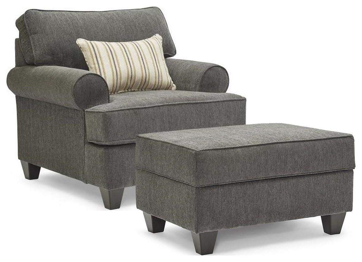 Moreland 2PC Chair & Ottoman Set at Rotmans