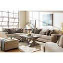 Lane Bravaro Living Room Group - Item Number: 8016 Living Room Group 1