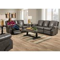 Lane Canterbury Power Reclining Living Room Group - Item Number: Power Reclining Living Room Group 1