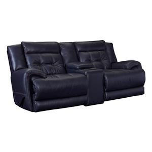 Lane Corsica Reclining Rocking Console Loveseat