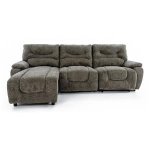 Lane Cruz 3 Piece Sectional