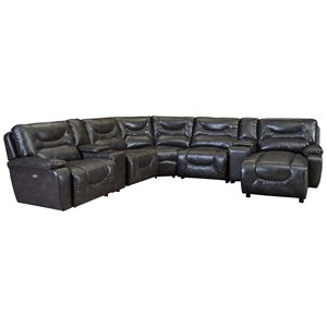 Lane Cruz Power Reclining Sectional
