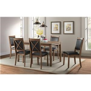 Idlewild Dining Table and 6 Chairs