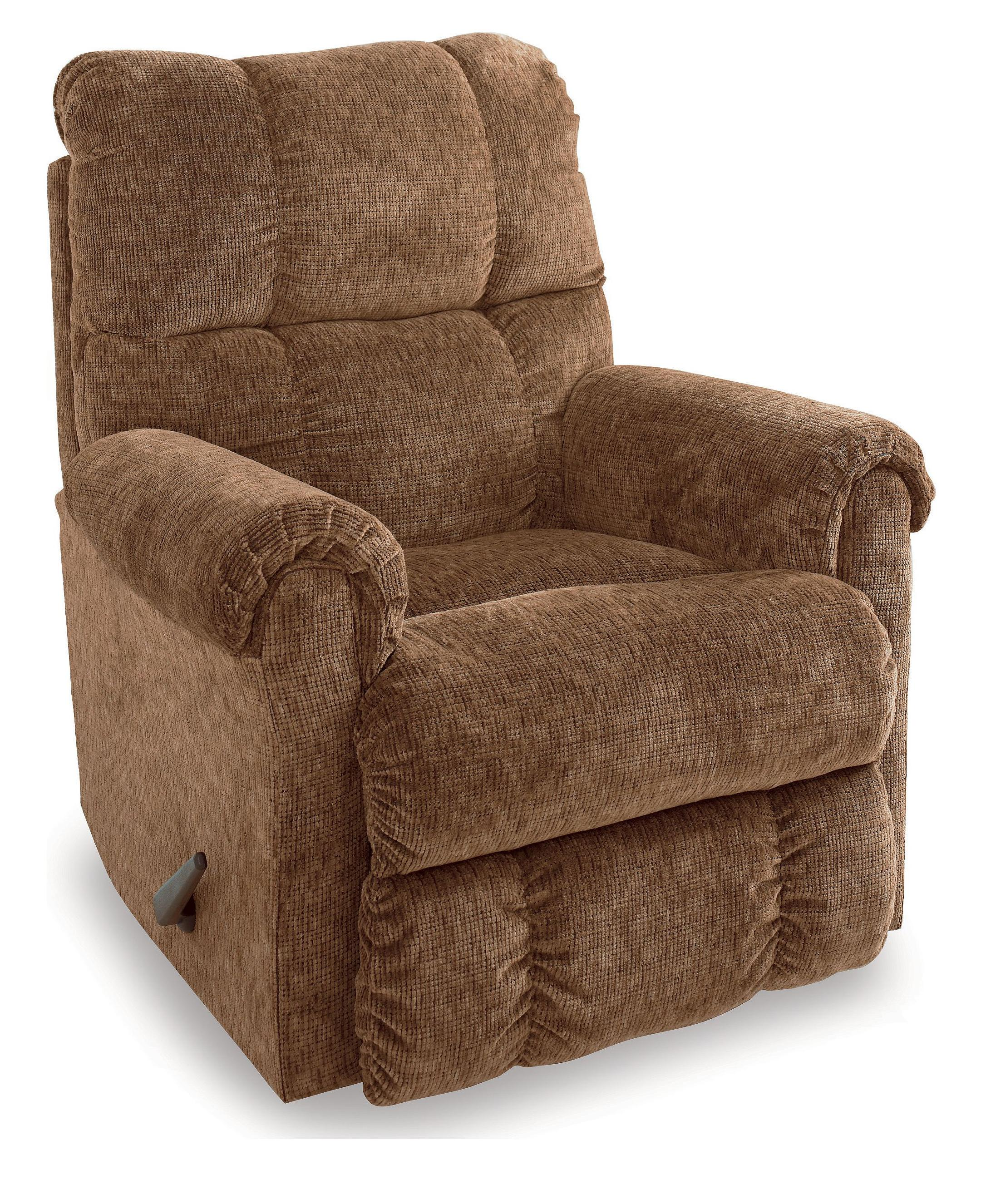 Lane eureka casual pad over chaise wallsaver recliner for Bulldog pad over chaise rocker recliner