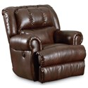 Lane Evans 323 Glider Recliner with Double-Padded Seat - Recliner Shown May Not Represent Exact Features Indicated