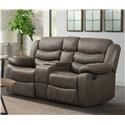 Lane Expedition Reclining Loveseat with Console - Item Number: 132359921