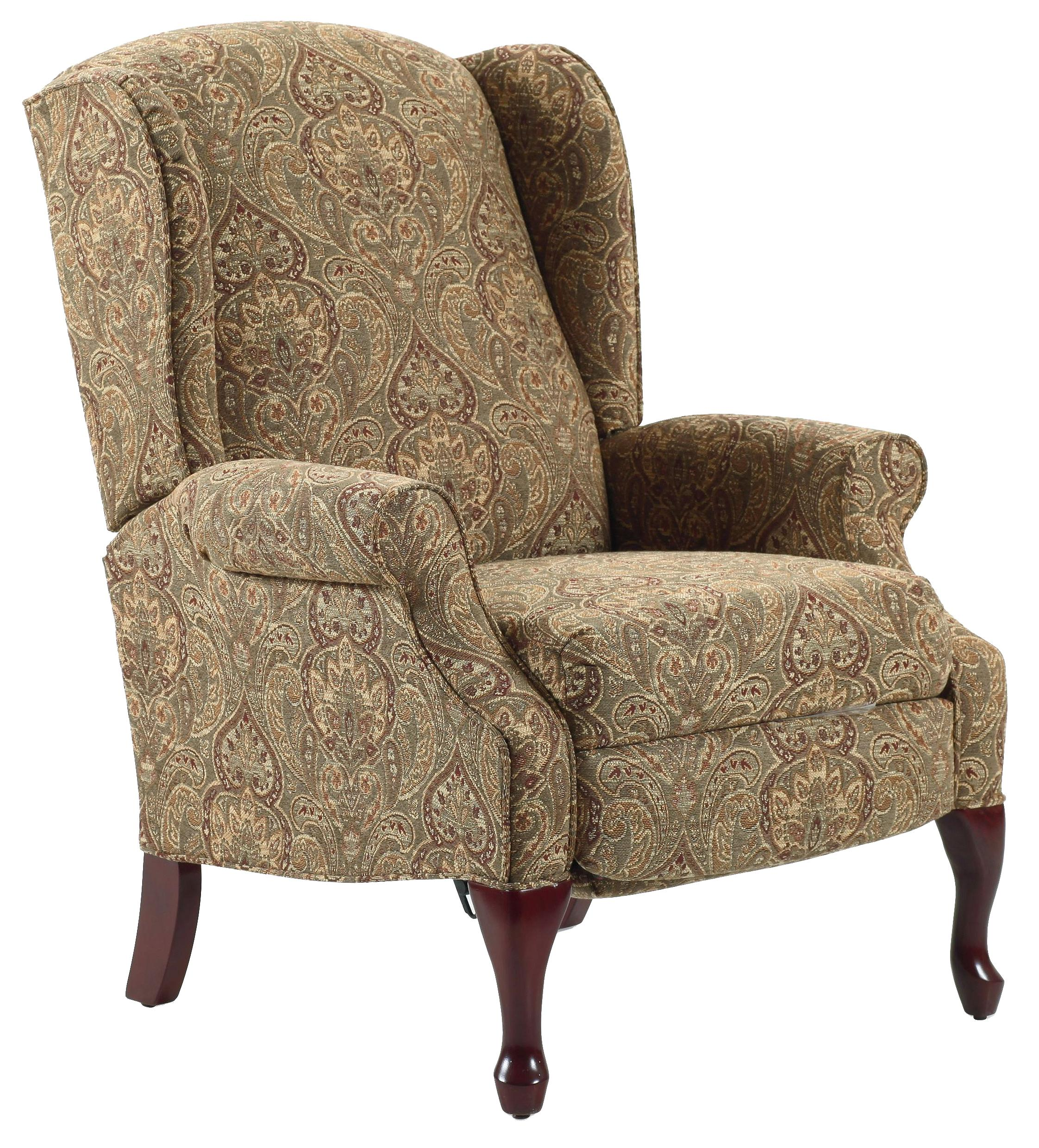Beau Lane Recliners Hampton Traditional High Leg Recliner In Wing Chair Style    AHFA   High Leg Recliner Dealer Locator