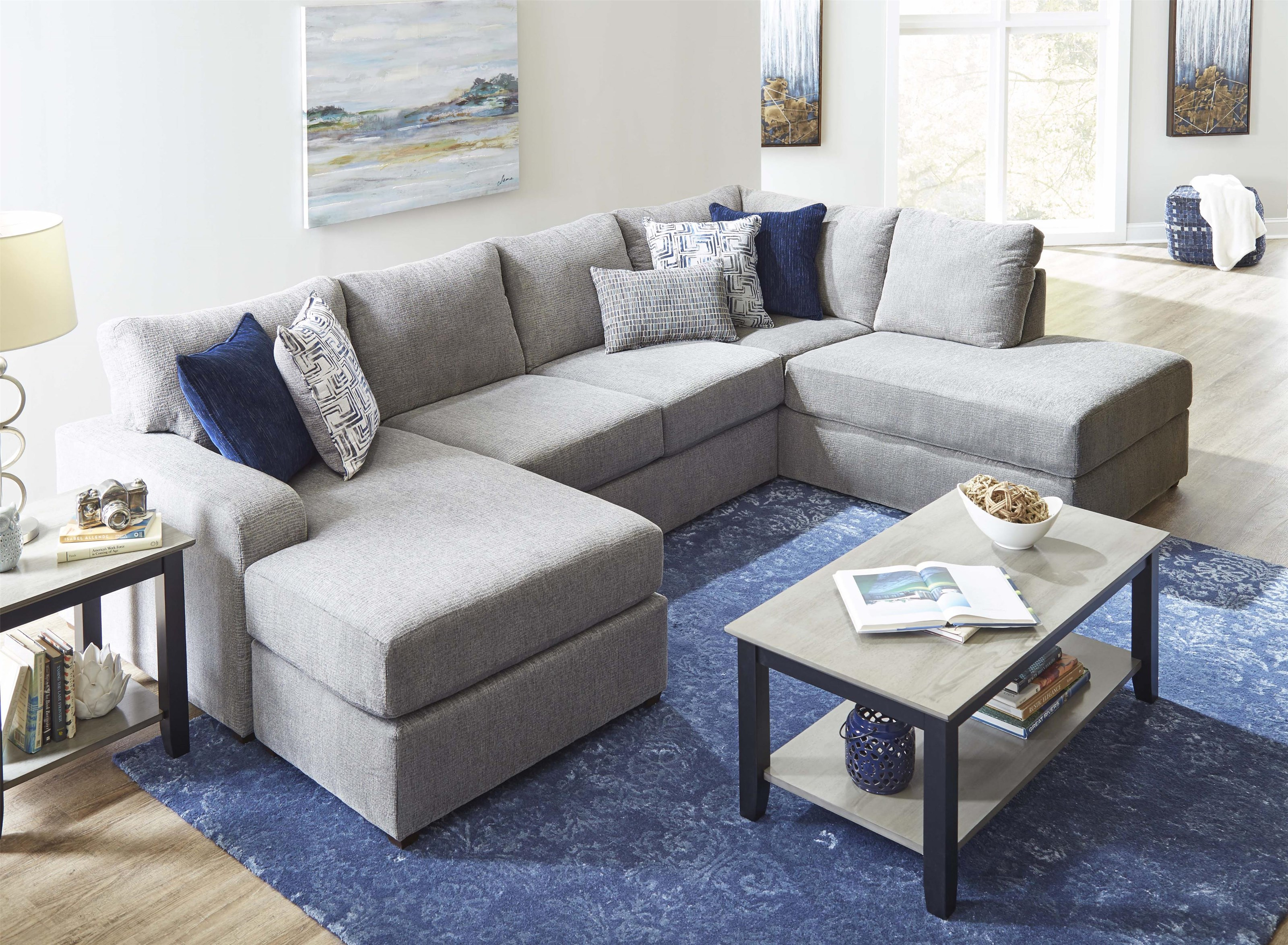 Flamenco 2-Piece Sectional by Lane at Del Sol Furniture