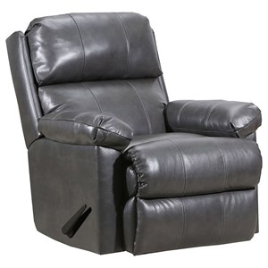 Glider Recliner with Heat and Massage