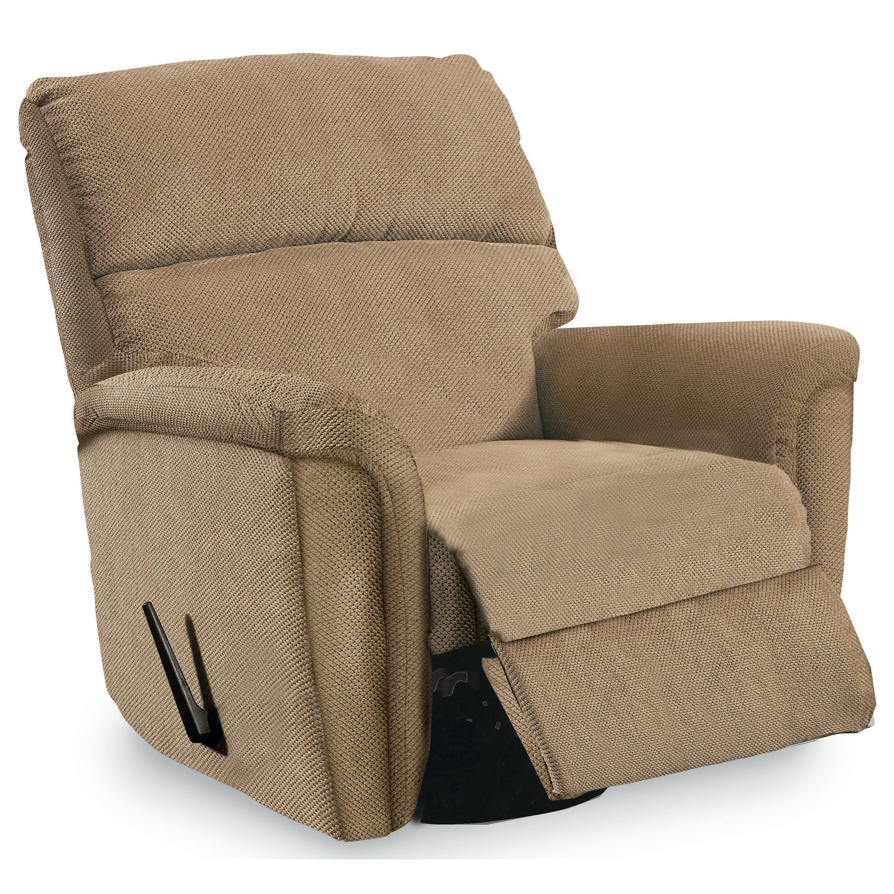 Lane grand torino glider rocker recliner with pad over for Bulldog pad over chaise rocker recliner
