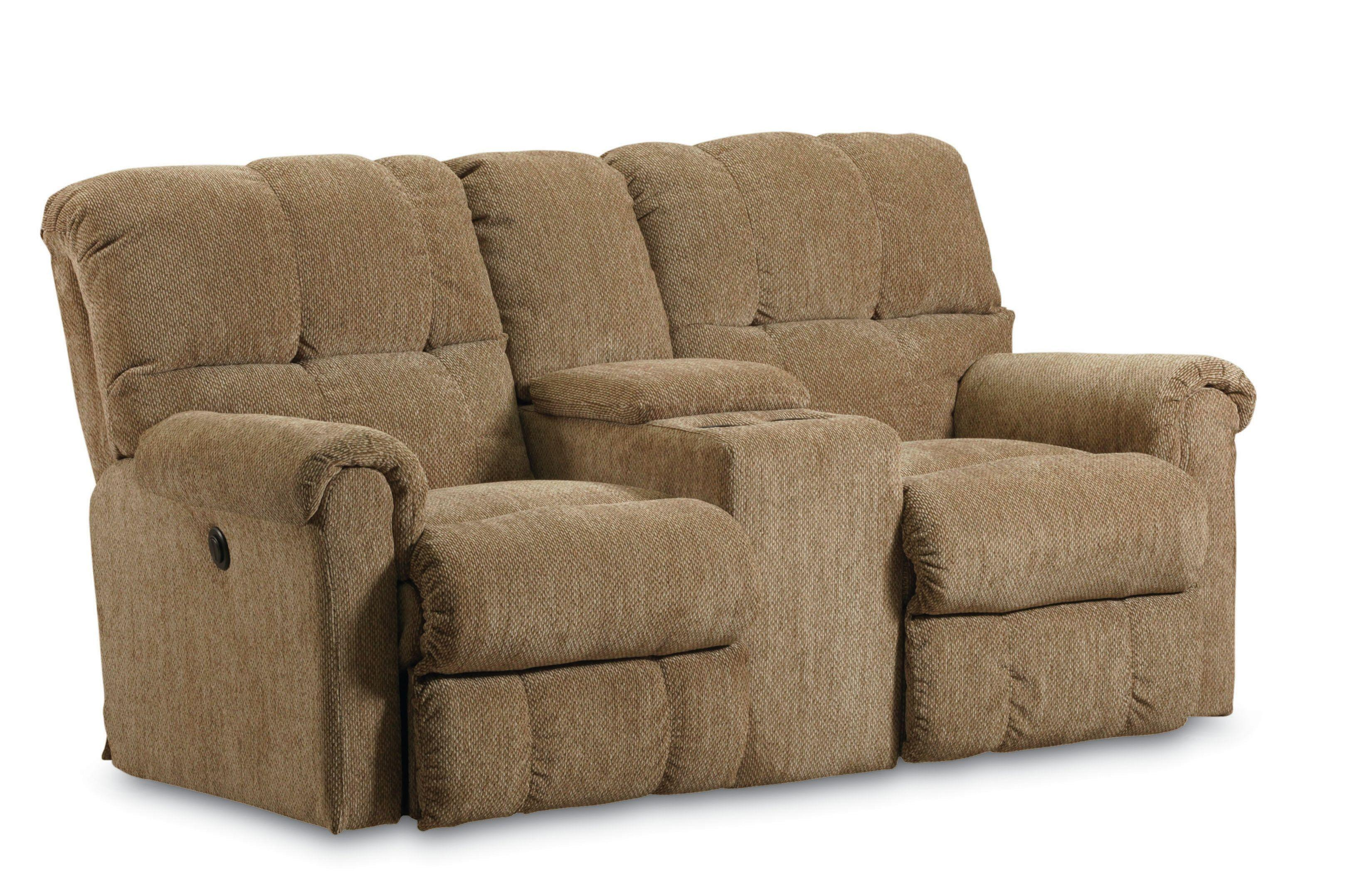 Lane Griffin Casual Griffin Double Reclining Loveseat With Drink Console Lindy 39 S Furniture