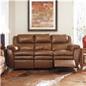 Lane Hendrix Power Double Reclining Sofa W/Storage Drawer - 294-56L - Shown in Room Setting