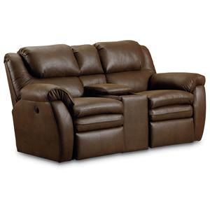 Lane Hendrix Double Power Reclining Loveseat