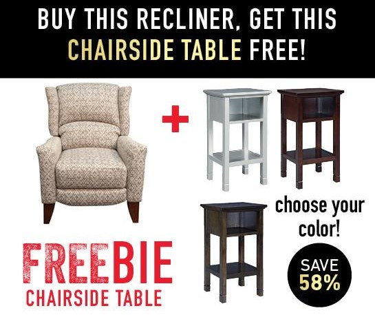 Holly Recliner with Freebie