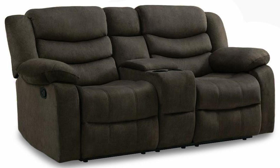 Hartwell Reclining Loveseat w/ Storage Console at Rotmans