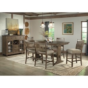 Counter Height Dining Room Group