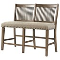 Hawthorne Hill Dallas Dallas Counter Height Dining Bench - Item Number: 5040-57