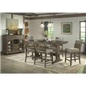 Hawthorne Hill Dallas Dallas Counter Height Dining Set - Item Number: 633343986