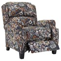 Lane Lannister Low-Leg Recliner with Nail Head Trim
