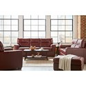Lane Lavish Living Room Group - Item Number: 2043 Living Room Group 1 - Crimson