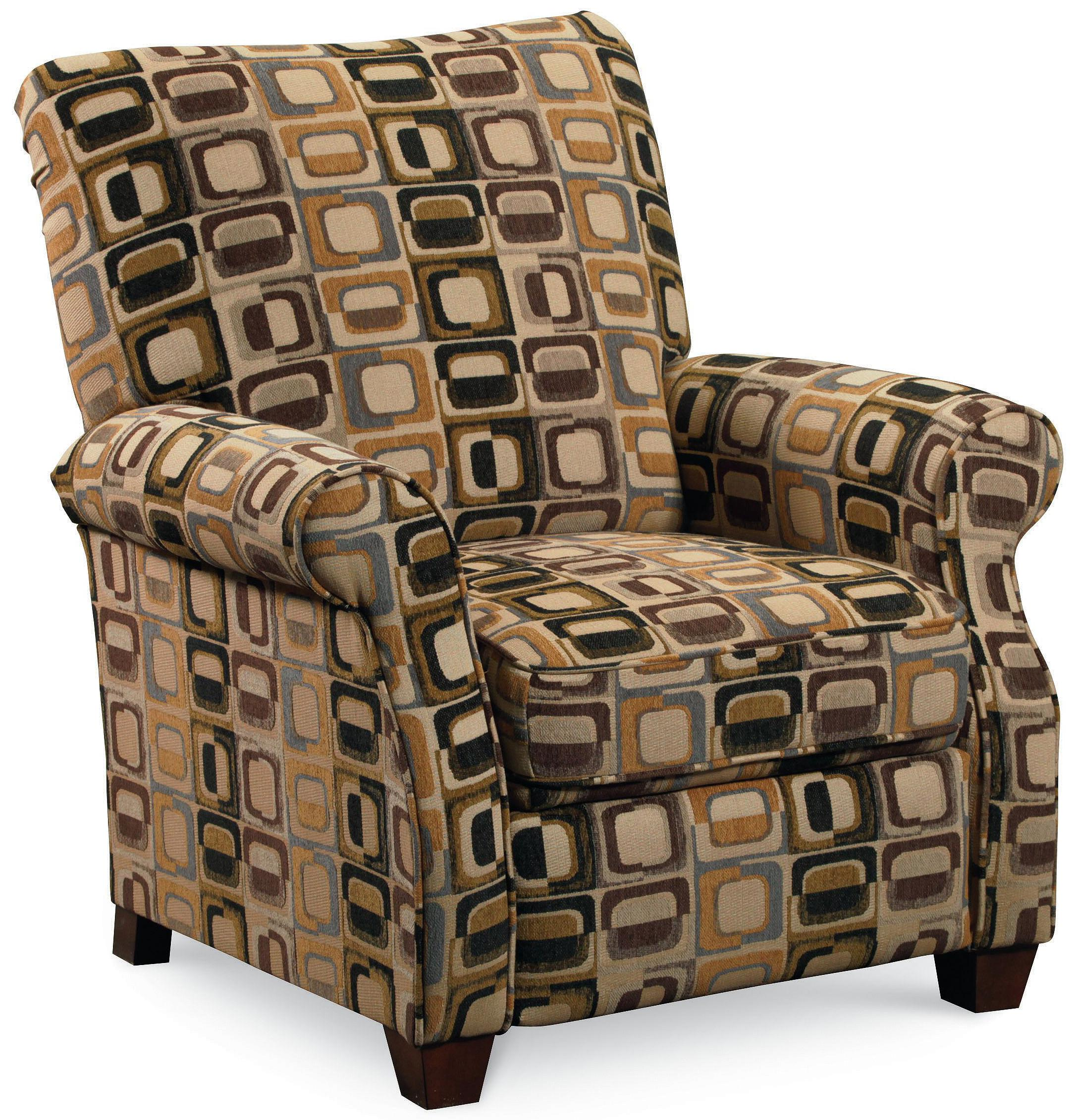 Wood Arm Recliner ~ Lane low leg recliners casual jill loleg recliner