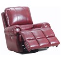 Lane McArthur Glider Recliner with Nail Head Trim
