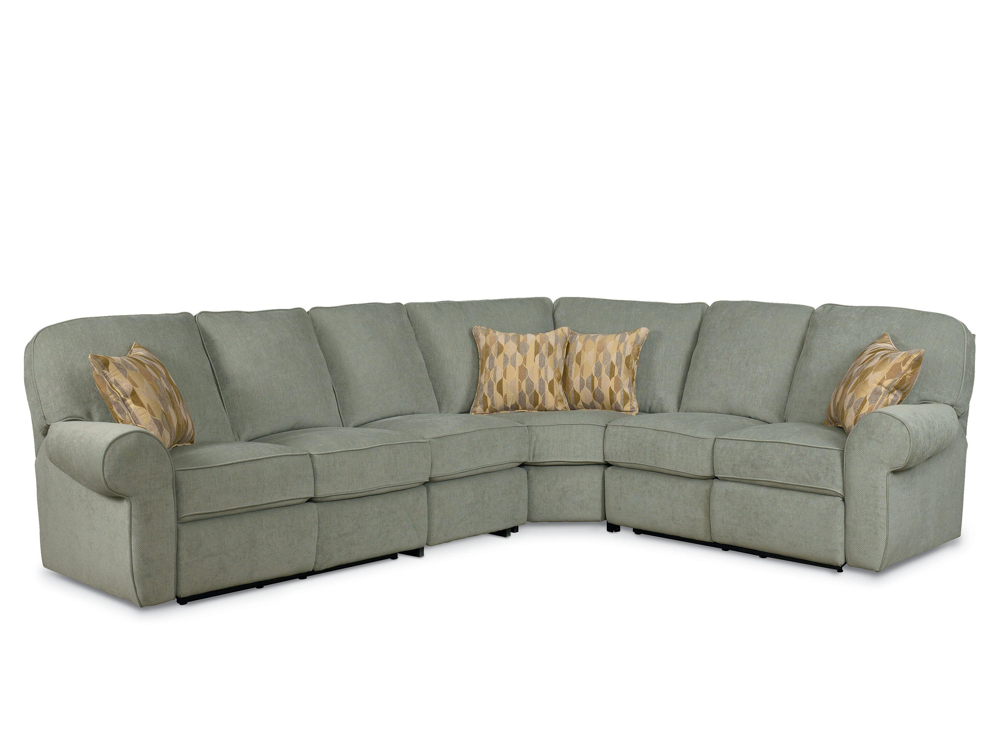 Great Lane Megan Powerized Reclining Sectional Sofa   Item Number: 343 03+91+