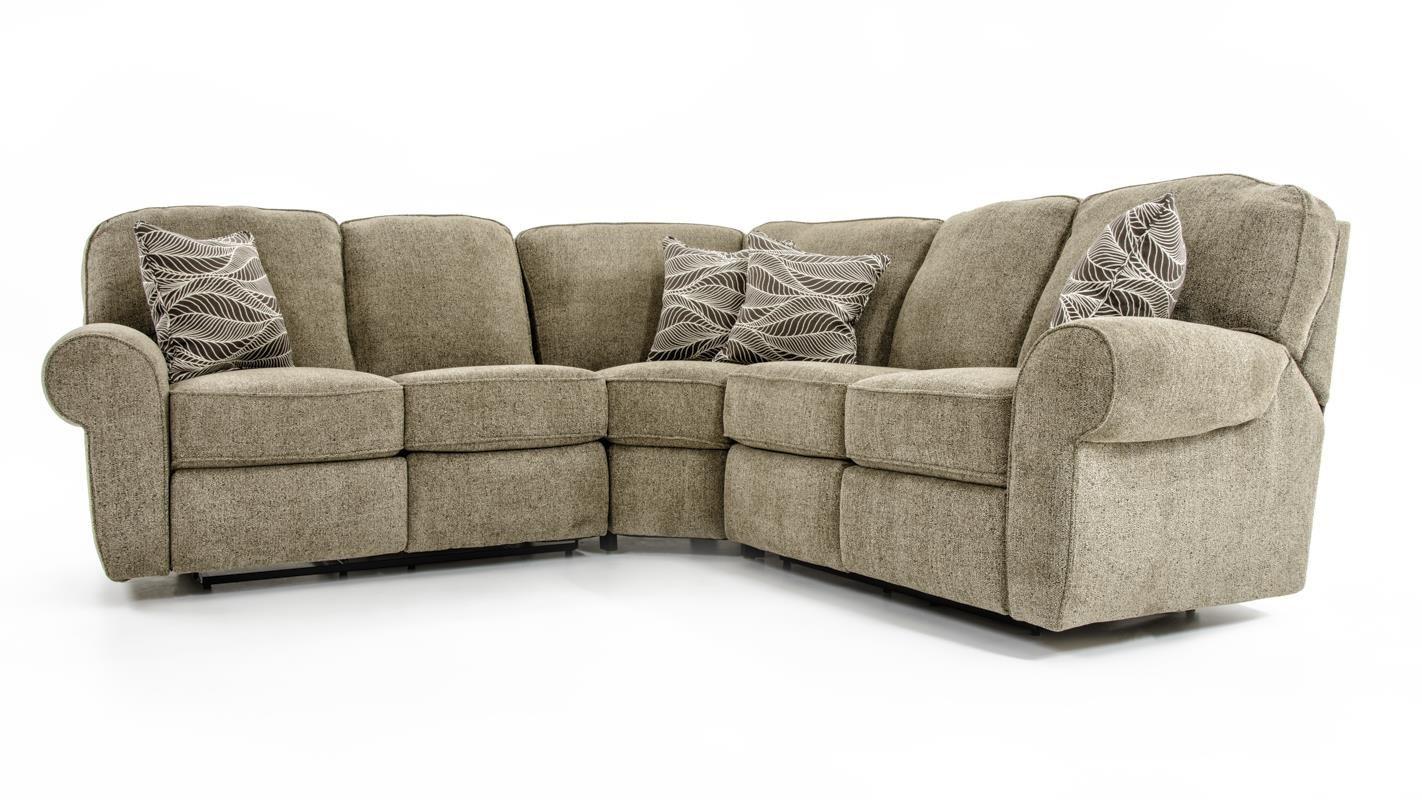 Lane Megan 3 Piece Sectional Sofa Baer S Furniture