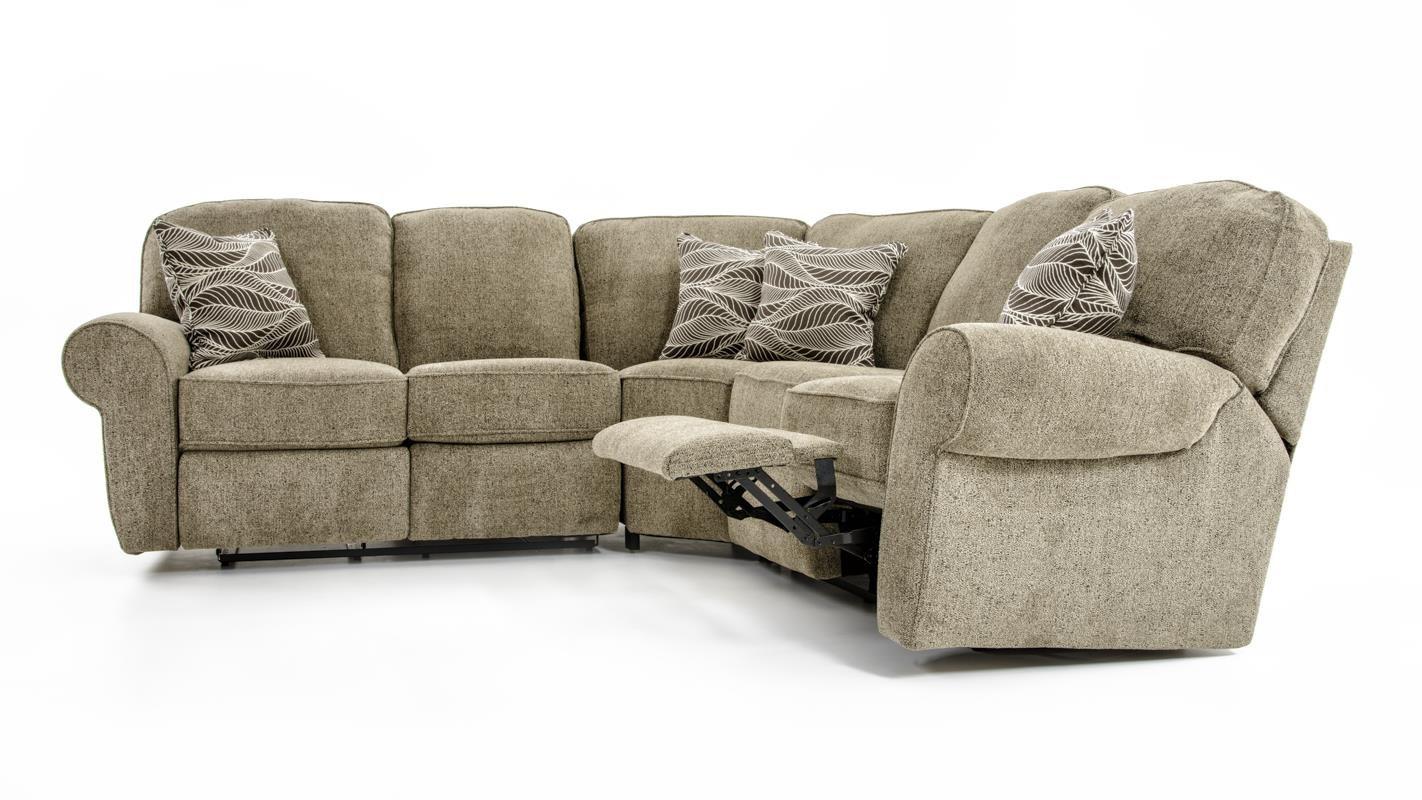 Lane Megan 3 Piece Sectional Sofa Baers Furniture