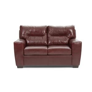 Noah Leather Loveseat