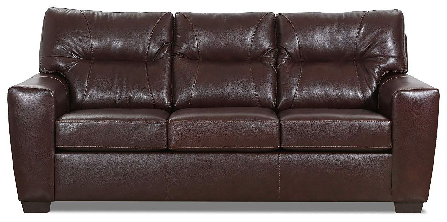 Noah Leather Match Sofa